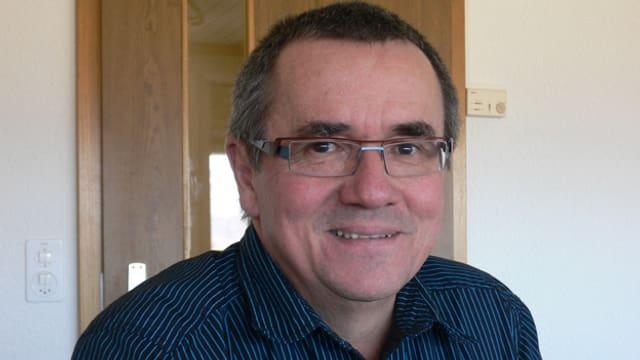Portrait des PUK-Präsidenten Heinrich Züger