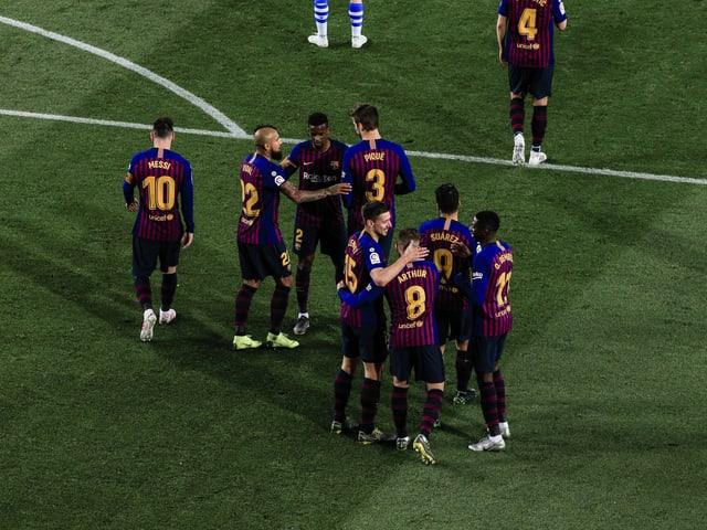 Barcelona jubelt