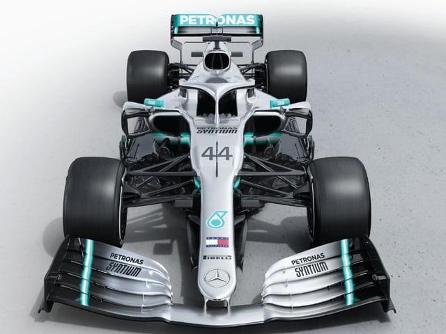 Der «W10» von Mercedes.