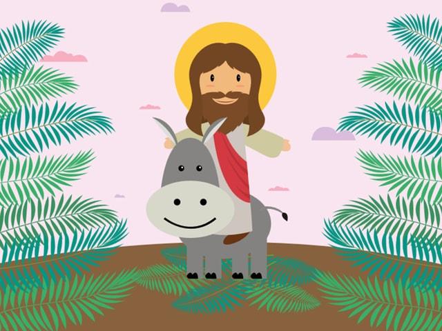 Jesus betritt Jerusalem