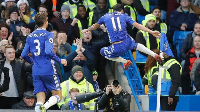 Chelsea gewinnt zum 12. Mal in Serie.