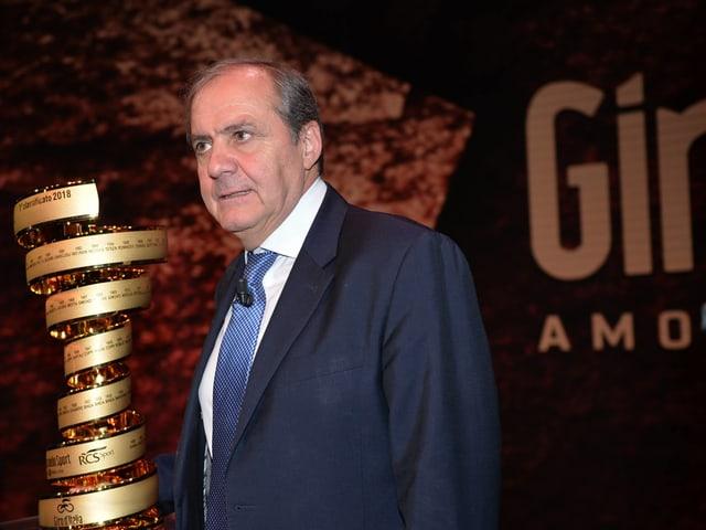 Giro-Direktor Mauro Vegni.