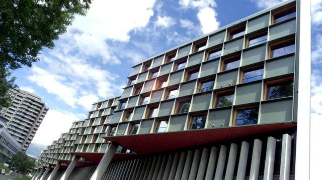 Fassade der Frauenklinik.