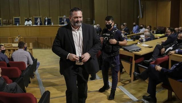 Ioannis Lagos im Gerichtssaal