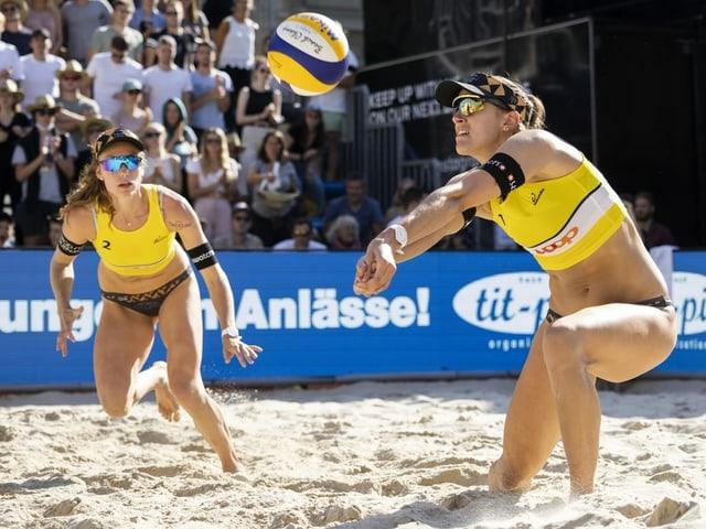 Tanja Hüberli und Nina Betschart