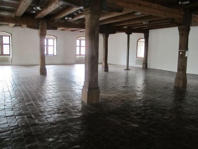 Leerer Raum im Museum Altes Zeughaus