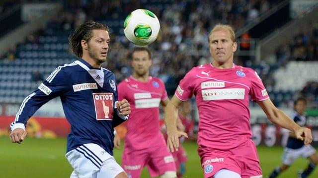 Im September konnte GC mit 2:0 in Luzern gewinnen.