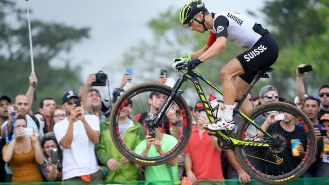 Siegerrennen Nino Schurter Mountainbike