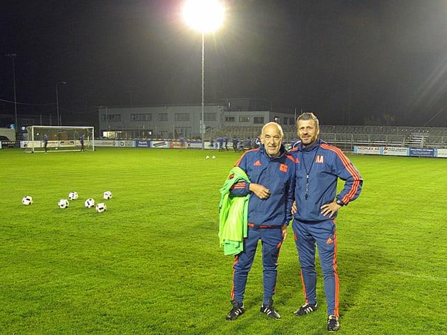 Zwei Trainer