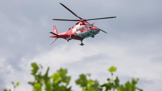 Rega-Helikopter.