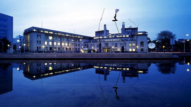 Das Gebäude des UN-Kriegsverbrechertribunal in Den Haag, wo das Jugoslawien-Tribunal stattfand.