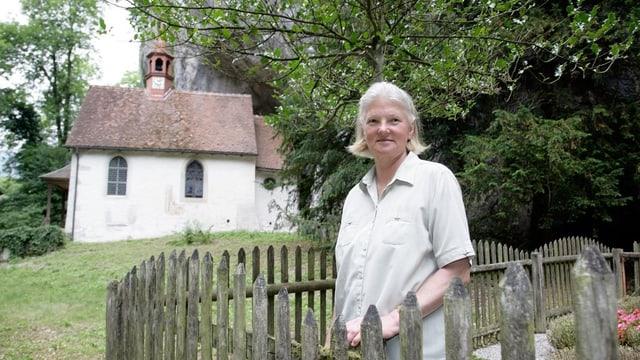 Verenaschlucht und Verena Dubacher