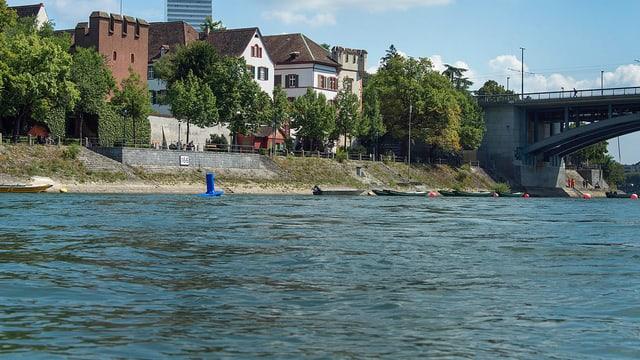 Rhein in Basel