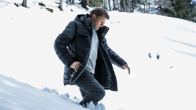 Marcus Signer als Ermittler Kägi in «Wilder».