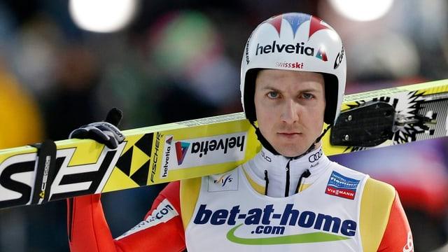 Simon Ammann bestreitet die 4 letzten Weltcup-Springen des Winters nicht mehr.