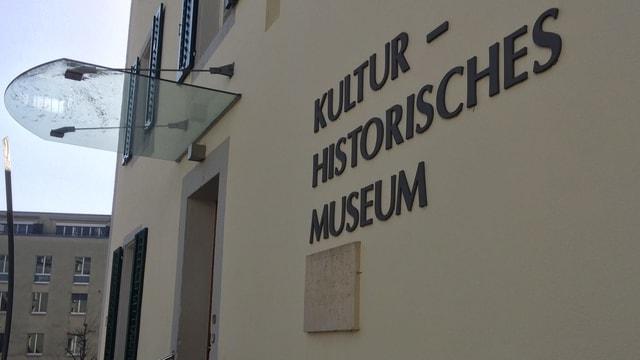 Schriftzug Museum.