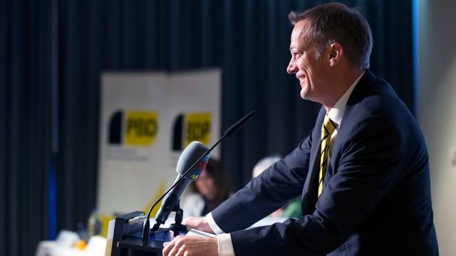 Sieht eine Zukunft für seine Partei auch ohne Bundesrätin: BDP-Präsident Martin Landolt