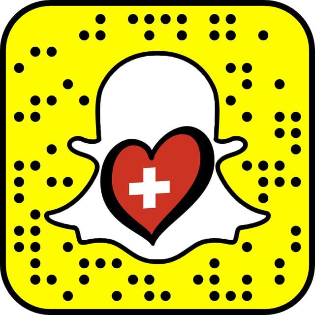 Snapcode für  Snapchat-Kanal «srfesc»