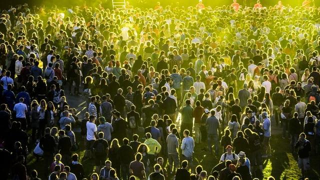 77'000 Menschen bevölkerten während vier Tagen den Gurten.