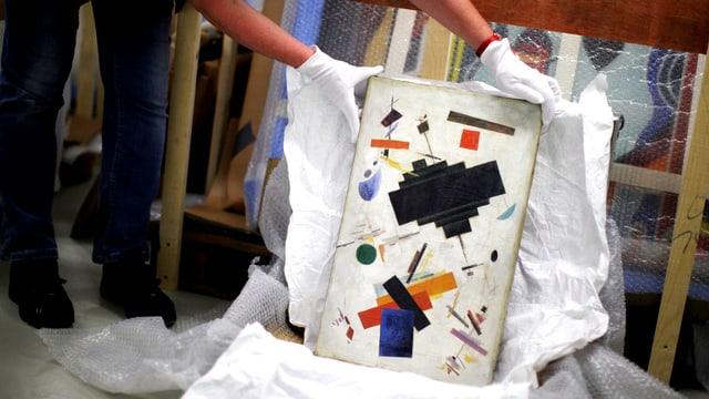 Gefäschtes Bild von Kandinsky