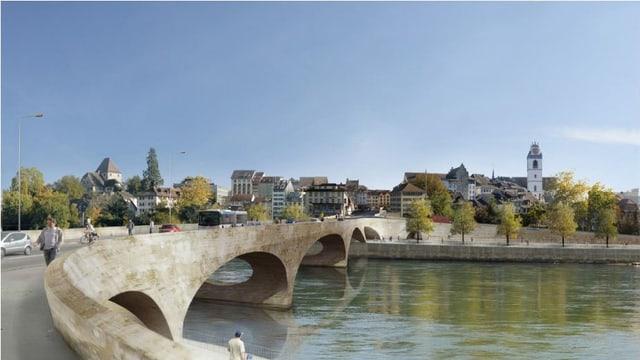 Visualisierung «Pont Neuf»