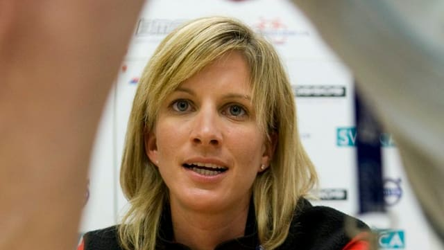 Nicole Brändli era sa retratga dal sport activ il 2009.
