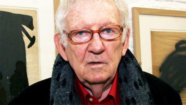 Ein Porträt des Schriftstellers Hugo Claus.