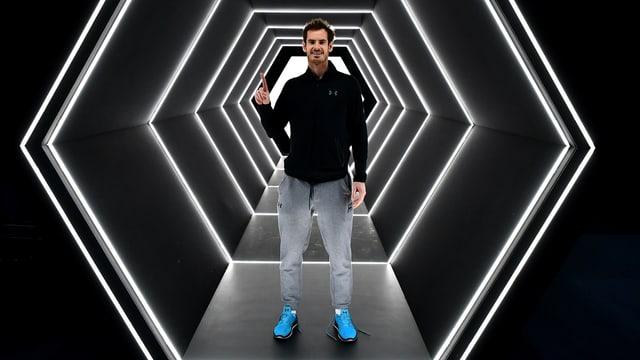 Wie lange kann sich Andy Murray an der Spitze halten?