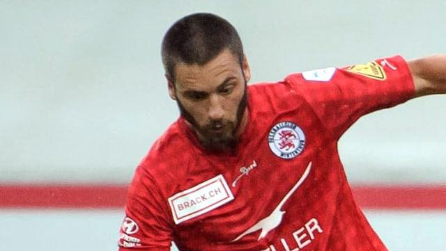 Kristian Kuzmanovic noch im Dress des FC Winterthur.