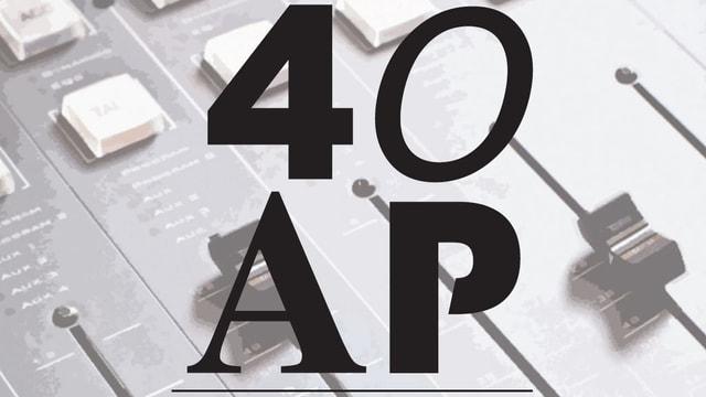 Das Logo «40 AP»