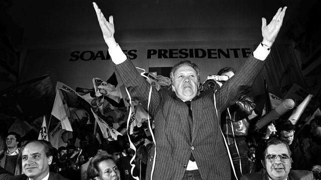 Der Sozialist Soares gilt als Vater der modernen Demokratie in Portugal.