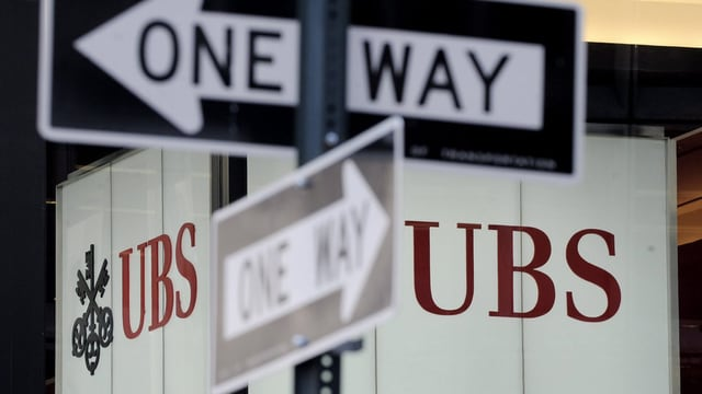 UBS Logo in new York