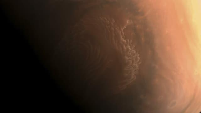 hochauflösendes Foto der Marsoberfläche