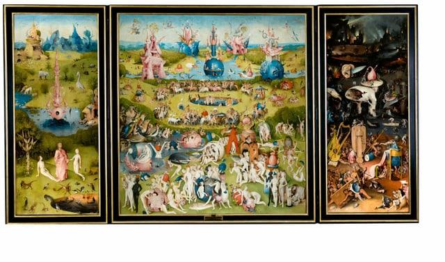 «Der Garten der Lüste» im Original.