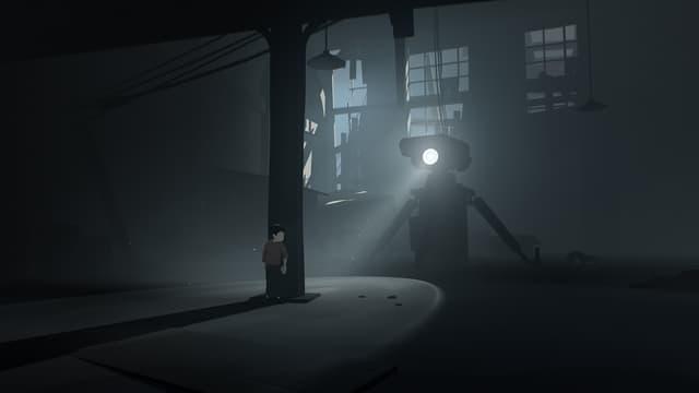Im Dunkeln.