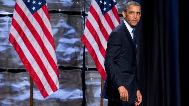 Porträt von Barack Obama.