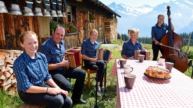 Familie Steuri aus Grindelwald BE