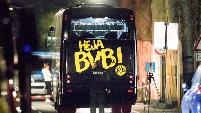 bus da l'equipa da ballapa Borussia Dortmund