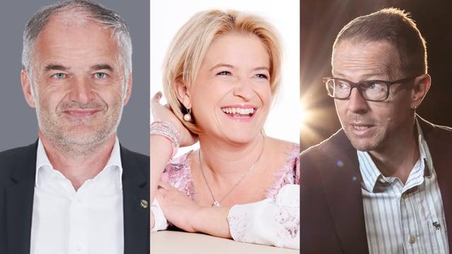 Teaserbild von Stéphane Chapuisat, Monique und Bänz Friedli