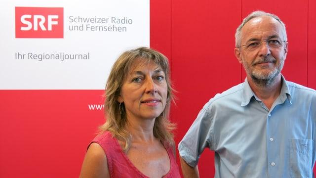 Portraitbild Dominique König (SP) und Oswald Inglin (CVP)