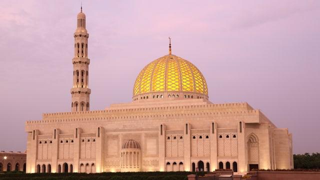 Eine Moschee im Wüstenstaat Oman.