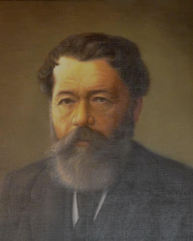 Purtret da Johannes Badrutt.