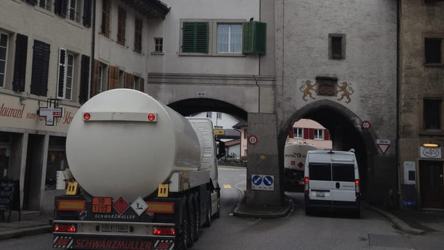 Verkehr in Mellingen