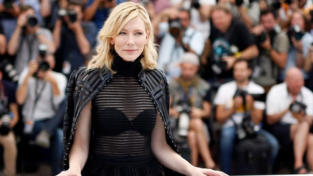 Cate Blanchett 2015 in Cannes