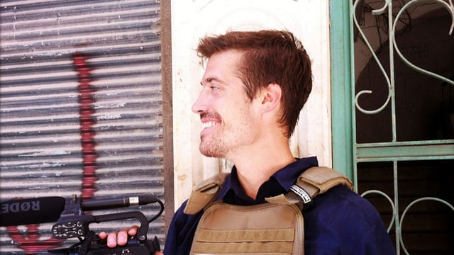 Der amerikanische Journalist James Foley