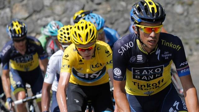 Contador vor Froome