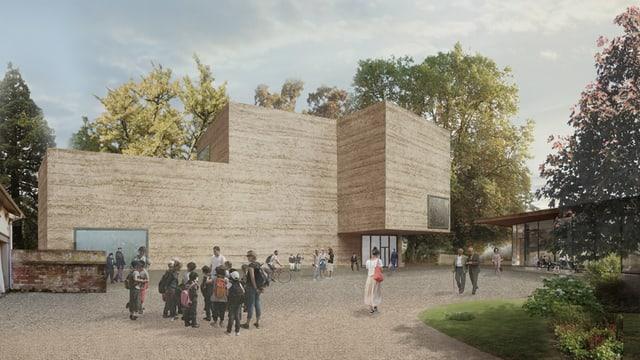 Il nov project da Peter Zumthor – l'engrondiment da la Fondation Beyeler e Riehen.