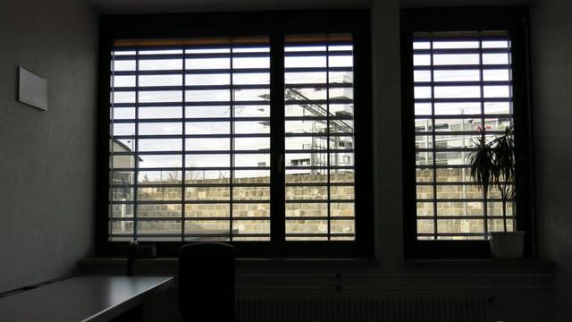 Vergittertes Fenster
