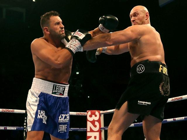 Sefer Seferi kämpft gegen Tyson Fury.