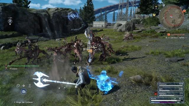 Kampfszenen gibt es in Final Fantasy zu Genüge.